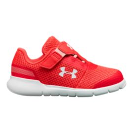 Under Armour Toddler Girls' Surge RN Penta Shoes - Pink/White
