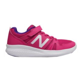 New Balance Girls' KV750 V1 AC Preschool Shoes - Pink/Purple