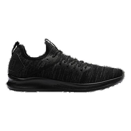 f906416f2ee1f PUMA Men's Ignite Flash EVOKnit Shoes - Black   Sport Chek