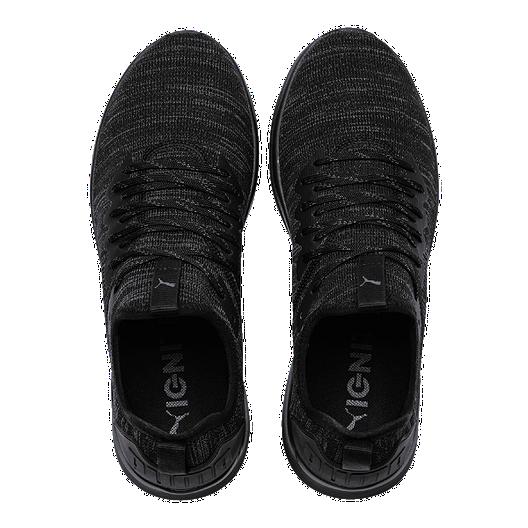 new concept e48c7 4cccd PUMA Men's Ignite Flash EVOKnit Shoes - Black