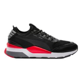 Puma Men's RS-O Play Shoes - Black/High Risk Red