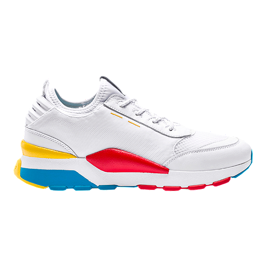 70738fc5072 PUMA Men's RS-O Play Shoes - White/Ocean/Dandelion | Sport Chek