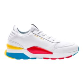 Puma Men's RS-O Play Shoes - White/Ocean/Dandelion