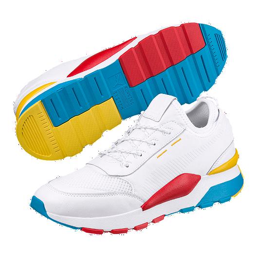 PUMA Men's RS-O Play Shoes - White/Ocean/Dandelion | Sport Chek