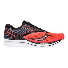 578ca1db2f62d Clearance. Saucony Men s Kinvara 9 Running Shoes - Vizired Black