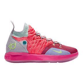 3c7a8c595a67 Nike Kids  KD River Champ Grade School Basketball Shoes - Punch Platinum