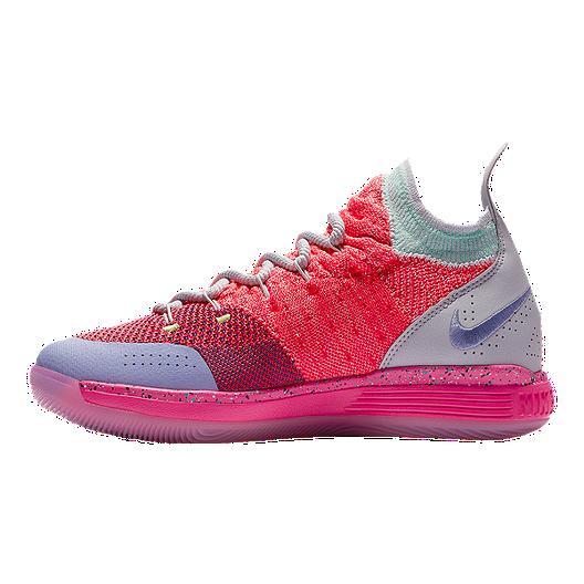 8784fc5f5107 Nike Kids  KD River Champ Grade School Basketball Shoes - Punch Platinum