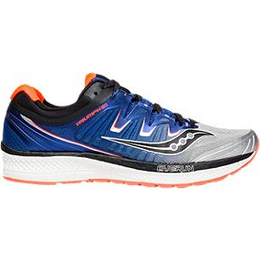 1b19b2714bde Saucony Men s Everun Triumph ISO 4 Running Shoes - Silver Blue