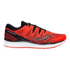 7b4181389fd3 Saucony Men s Everun Freedom ISO 2 Running Shoes - Vizired Black