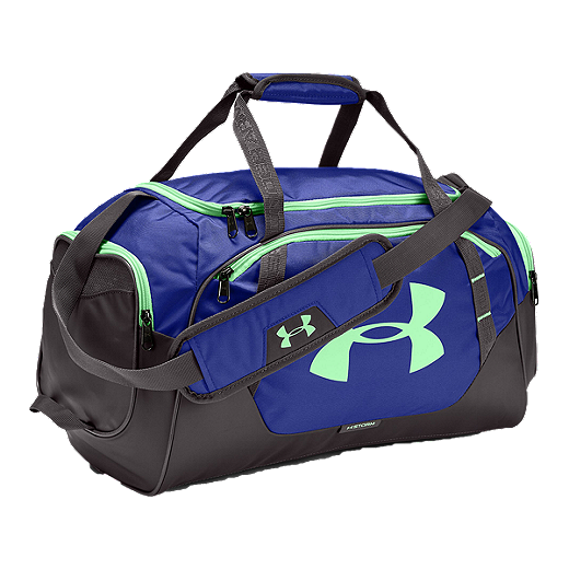 b07f2cc47 Under Armour Men's Undeniable 3.0 Duffel Bag - CONSTELLATION  PURPLE/CHARCOAL/GREEN