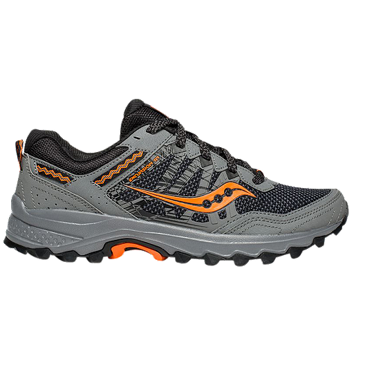 99f1b1ae5a Saucony Men's Excursion TR12 Trail Running Shoes Wide - Grey/Orange