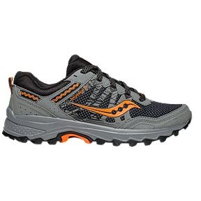 7c3396ab6460 Saucony Men s Excursion TR12 Trail Running Shoes Wide - Grey Orange