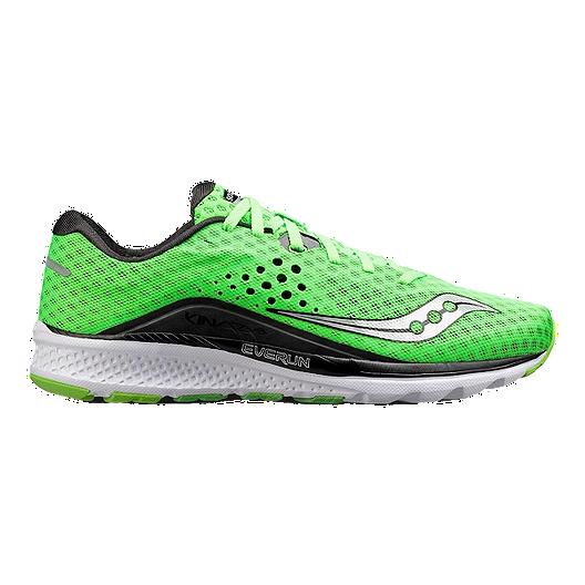 e585c5f6cf89 Saucony Men s Everun Kinvara 8 Running Shoes - Slime Black