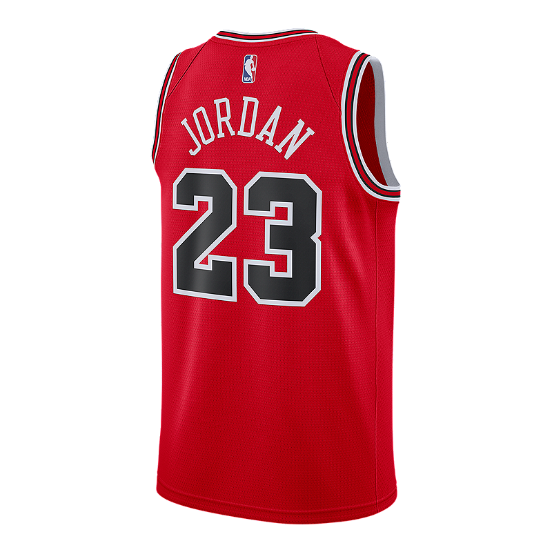 cheap for discount 06070 38856 Chicago Bulls Nike Men's Michael Jordan Swingman Road Jersey ...