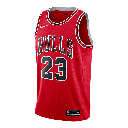 cheap for discount 78a9e 3ed99 Chicago Bulls Nike Men's Michael Jordan Swingman Road Jersey ...