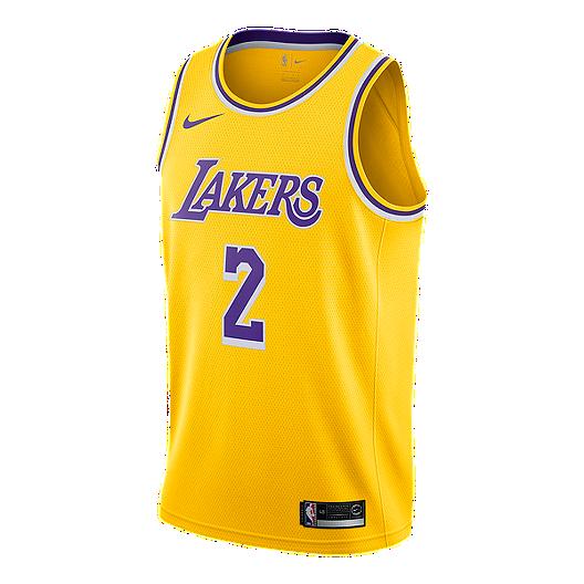 best authentic 1d2ff 9beab Los Angeles Lakers Nike Men's Lonzo Ball Swingman Icon ...