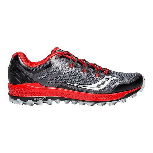 33f45bf7 Saucony Men's Peregrine 8 Trail Running Shoes - Black/Red