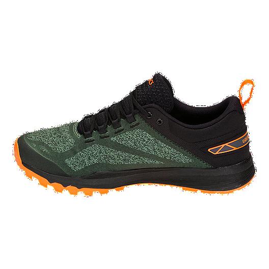 ASICS Men's Gecko XT Running Shoes Cedar GreenBlack