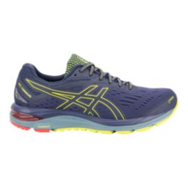 ASICS Men's GEL-Cumulus 20 GTX Running Shoes - Navy/Lime