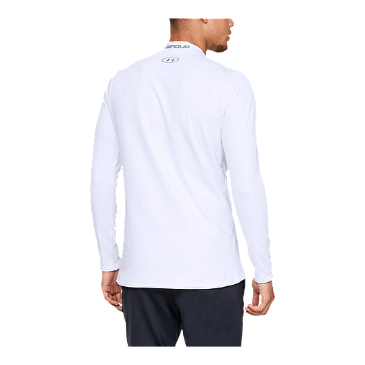PICK A SIZE /& COLOR NEW MEN'S UNDER ARMOUR COLD GEAR L//S FITTED MOCK SHIRT