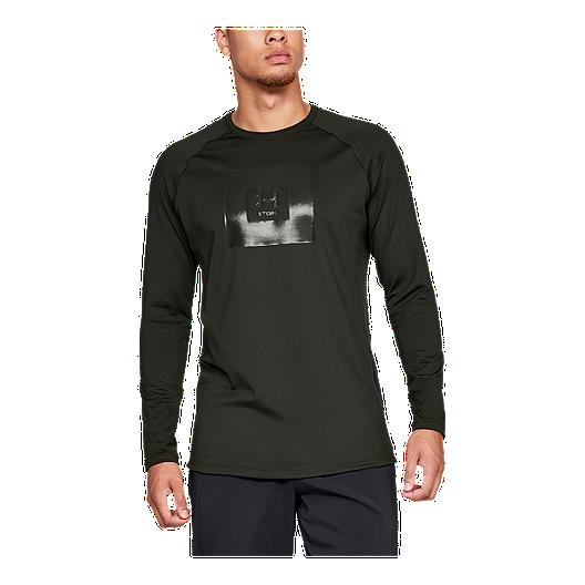 d9537a09a9 Under Armour Men's ColdGear Storm Cyclone Long Sleeve Shirt
