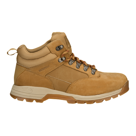 Timberland Men's Skhigh Leather Hiker Boots Wheat
