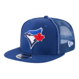 Toronto Blue Jays New Era Men's Trucker Worn Snap Hat