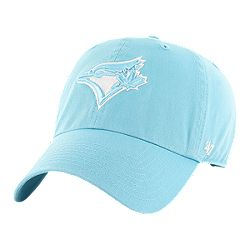 14c638ee42bcd ... heathered royal  image of toronto blue jays womens 47 brand caribbean  clean up cap with sku