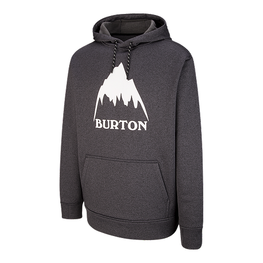 23355b4dc Burton Men's Oak Pullover Hoodie - Black Mountain | Sport Chek