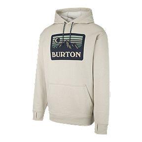 Burton Men s Oak Pullover Hoodie - Oatmeal 96cd4f0ce