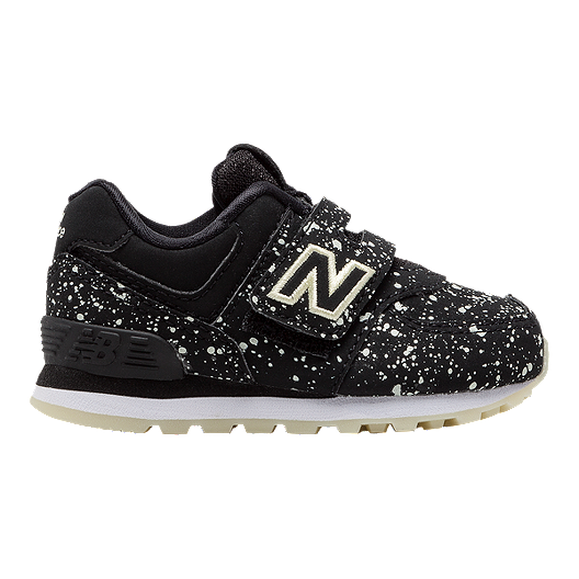 the best attitude 1708e ed66d New Balance 574 Toddler Shoes - Black/Glow