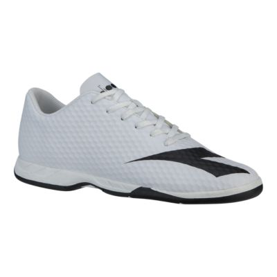 adidas tech fit Chaussures for futsal Chaussures Blanc Défi J'arrête, j'y gagne!