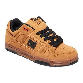 DC Men s Stag Shoes - Wheat Black 425bb36f1231c