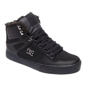 DC Men s Pure WNT Winter High-Top Shoes - Black 9680a370fc5f9