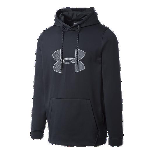 921867a7 Under Armour Men's Fleece Logo Graphic Pullover Hoodie