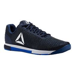 590d7189e33db1 image of Reebok Men s Speed TR Flexweave Training Shoes - Blue White with  sku