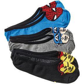 2a42851e8f Vans Women s X Marvel Avengers Invisible Socks - 3-Pack