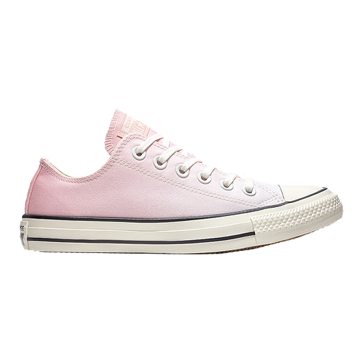 Converse Women's Chuck Taylor Ox Ombre Wash Shoes Pink