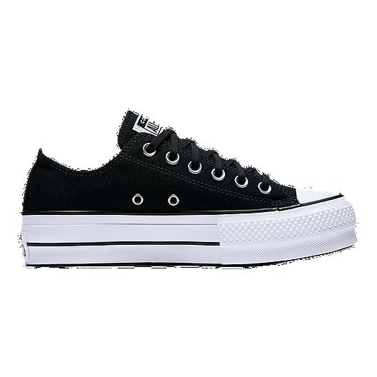 60a6086f304d Converse Women s Chuck Taylor Lift Shoes - Clean Black