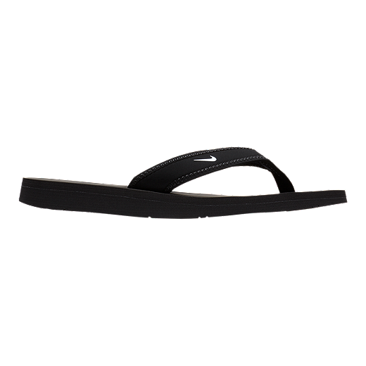 newest 5b70a c7be6 Nike Women s Celso Thong Sandals - Black White - BLACK WHITE
