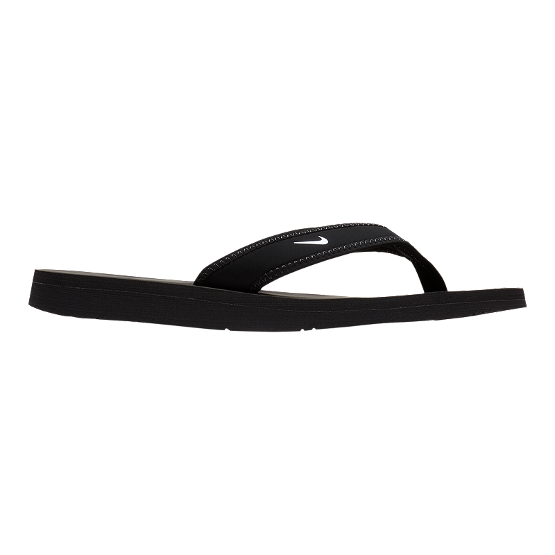 babf413239ae Nike Women s Celso Thong Sandals - Black White