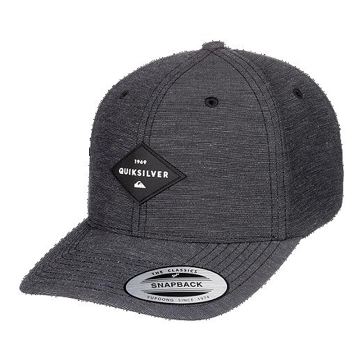 9ddadb6c6 Quiksilver Men's Union Heather Snap Back Hat