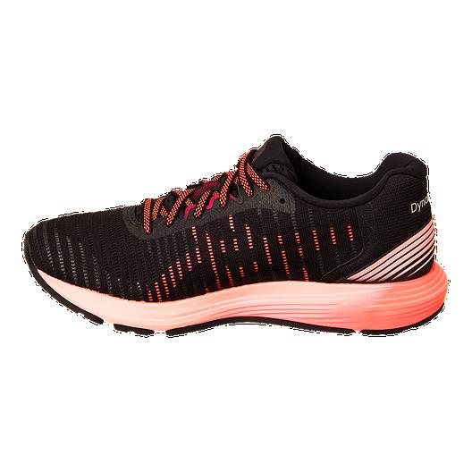 hot sales 8dd3c fb03d ASICS Women's Dynaflyte 3 Running Shoes - Black/Flash Coral