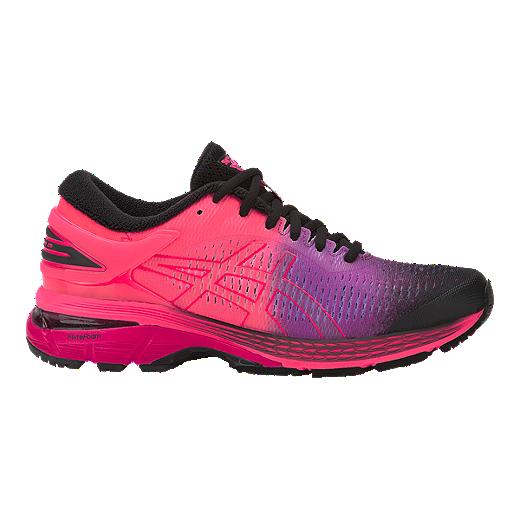 471fac127a1af ASICS Women's Gel Kayano 25 Running Shoes - Solar Shower/Black - SOLAR  SHOWER BLACK