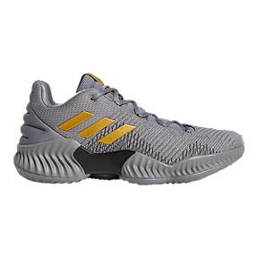 new styles 38521 b4c38 adidas Men s Pro Bounce Low 2018 Basketball Shoes - Grey Gold