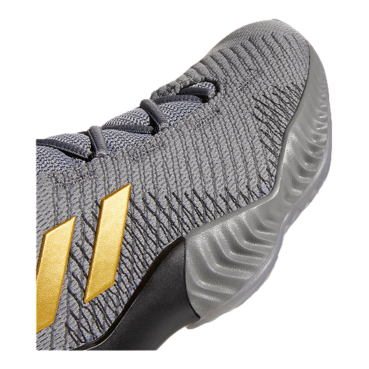277cdae55 adidas Men s Pro Bounce Low 2018 Basketball Shoes - Grey Gold ...