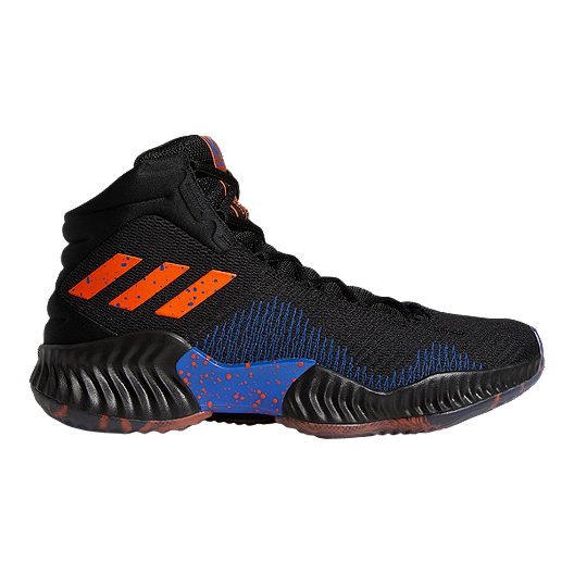 2c74b781a50e7 adidas Men s Porzingis Pro Bounce 2018 Basketball Shoes - Black Orange