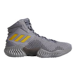 e020165708a image of adidas Men s Pro Bounce 2018 Basketball Shoes - Grey Gold with sku