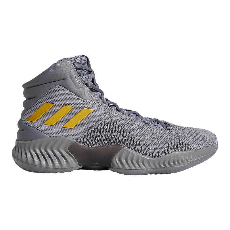low priced 4382e 85f09 adidas Men s Pro Bounce 2018 Basketball Shoes - Grey Gold   Sport Chek
