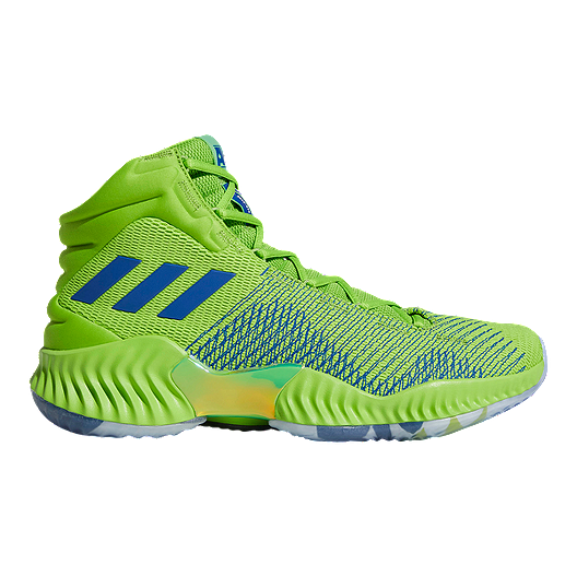 1bad618d73dbe adidas Men s Wiggins Pro Bounce 2018 Basketball Shoes - Green Blue ...